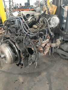 HYSTER S155XL COMPLETE ENGINE ASSEMBLY W/ HYD PUMP AND CONVERTER