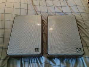 vintage Grundig HiFi Box 313 compact speakers