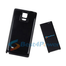 10500mAh Extended Life Battery+Black Cover For Samsung Galaxy Note 4 N910P N910