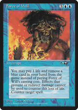MTG X1: Force of Will, Alliances, U, Very Light Play - FREE US SHIPPING!