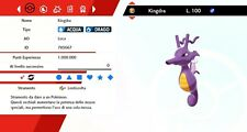Kingdra Ultra Shiny Battle Ready Pokemon Sword - Shield, Pokemon Spada - Scudo