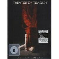 """THEATRE OF TRAGEDY """"LAST CURTAIN CALL"""" DVD+CD NEW"""
