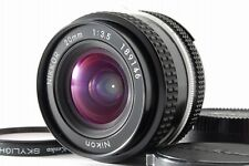 【Near MINT】 Nikon Ai Nikkor 20mm f/3.5 Wide Angle Prime Lens w/ Case from Japan