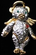 VALENTINE LOVE FRIENDSHIP ANGEL TEDDY BEAR RAG DOLL PIN BROOCH PENDANT MOVABLE