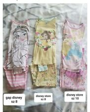 Little girl Gap and Disney princess pajama set Girls Lot of 3!