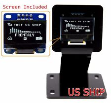 "0.96"" I2C IIC Serial 128X64 LED OLED LCD  Display Module Stand Holder 4 Arduino"