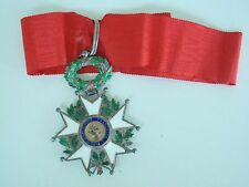 FRANCE LEGION OF HONOR COMMANDER 3RD REP. SILVER. VF
