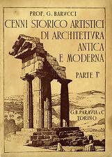 Barucci - CENNI STORICO ARTISTICI DI ARCHITETTURA ANTICA E MODERNA parte I