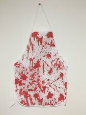 BLOODY APRON Halloween Party Fake Blood Horror Butcher Killer Zombie bloody