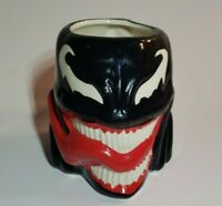 Venom Marvel Comics Mug Red Black Genuine Face Shaped Cómics 16oz MOLDED Cup Vtg