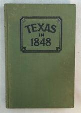 1931 1st English Ed Texas In 1848 Viktor Bracht