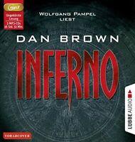 DAN BROWN - INFERNO  3 MP3 CD NEW