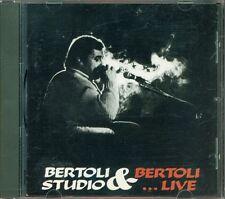 Pierangelo Bertoli - Bertoli Studio & Live 1A Stampa Cgd Polygram West G. Cd