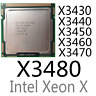 intel Xeon X3430 X3440 X3450 X3460 X3470 X3480 LGA1156 CPU Processor