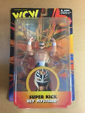 OSFTM WCW ACTION FIGURE MOC REY MYSTERIO WRESTLING ACTION FIGURE wwf wwe Mattel