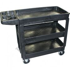 Plastic Service Cart Trolley 3 Tier (T3T250P)