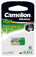 100 Camelion 4LR44 PX28A V4034PX A544 6V Photo Batterie12,8 x 25,1mm