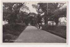 Long Lane Corton Suffolk RP Postcard, B720