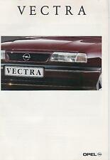 Catalogue brochure Katalog Prospekt OPEL VECTRA 11 PAGES ANNEE 1993
