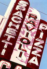 Spaghetti Ravioli Pizza Neon Sign Hand Color Photo Italian Restaurant Art Decor