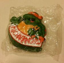 Teenage Mutant Ninja Turtles Michelangelo Rad Badge 1989 Burger King Vintage New