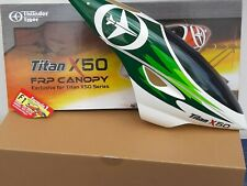 FRP CANOPY FOR TITAN X50 SERIES PV1310-G GREEN THUNDER TIGER