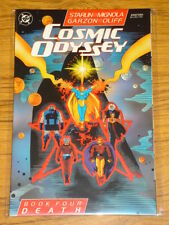 COSMIC ODYSSEY BOOK 4 DEATH DC BATMAN DR FATE GRAPHIC NOVEL