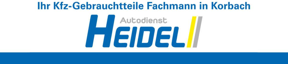 Autodienst-Heidel
