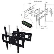 vidaXL 50317 Soporte Inclinable 3D Giratorio de Pared para TV - Negro