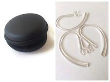 10 EarHooks for Plantronics M25 M55 M1100 M100i M155 M165 M70 M90 + FREE CASE
