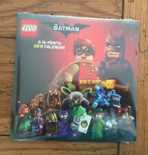 Lego Batman 2018 Mini Wall Calendar 16 Month Trends International Sealed (58)