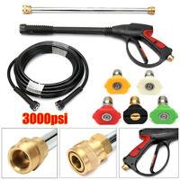 3000PSI High-Pressure Car Power Water Spray Gun Washer 50cm Extension Wand Hose