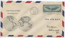 1939 2nd DAY COVER 30 Cent WINGED GLOBE