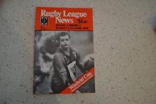 RUGBY LEAGUE NEWS RARE ORIGINAL 1992 BRL PROGRAMME! NORTHS DEVILS EASTS TIGERS