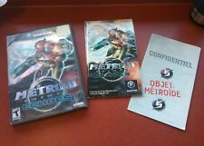 Metroid prime 2 II echoes NGC Nintendo GameCube Manual cover in box NO GAME!!!