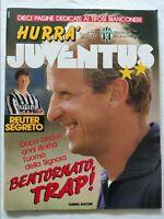 HURRA' JUVENTUS N. 7-8 LUGLIO 1991 + SPECIALE STATI UNITI TRAPATTONI REUTER