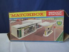 Vintage Lesney Matchbox BP Service Station MG-1 Made in ENGLAND  RARE