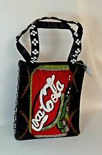 SPECIAL COCA-COLA COKE HAND BEADED BEAUTIFUL PURSE HANDBAG BAG TOTE