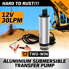 12v Aluminium Submersible Transfer Pump Fuel Diesel Water Oil Fast Post AU