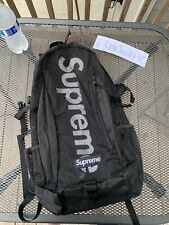 Supreme New York Mesh Backpack with Logo SS20