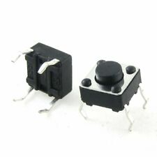 50PCS 6x6x5mm DIP Through-Hole 4pin Tactile Push Button Switch Momentary