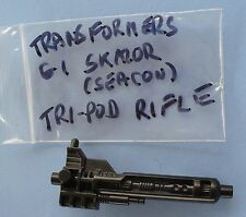 VINTAGE TRANSFORMERS G1 SKALOR (SEACON) TRI POD RIFLE WEAPON PART 1988 PIRANACON