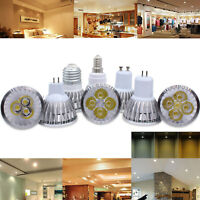 Dimmable MR16 GU10 E27 E14 9W 12W 15W LED Spotlight Bulbs CREE Ultra Bright Lamp