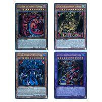 Yu-Gi-Oh! Karten - Uria Hamon Raviel Armityle - Götterkarten Ultra Rare Holo