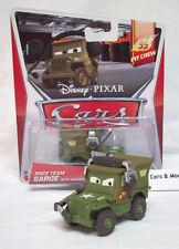 "Disney Pixar CARS 2 Movie Die Cast ""95 Race Team"" RACE TEAM SARGE with HEADSET"