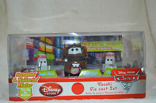 Disney Pixar Cars 2  WASABI DIE CAST SET Of 3 MATER & 2 SUSHI CHEF  NIB