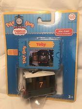 Take Along Thomas the Train Tank Engine Take Along Toby Tram Mail Metal NEW