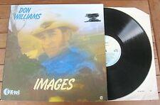 DON WILLIAMS Images (1978) LP VINYL ALBUM - K-Tel – NE 1033