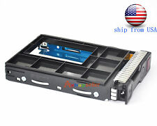 "hp 651314-001+661914-001 2.5"" to 3.5"" hdd Tray Caddy for hp G8/G9 ship from USA"
