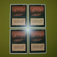 Cursed Land x4 Fourth Edition 4th 4x Playset Magic the Gathering MTG